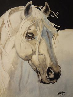 I love a good painting of a Horse and this one is beautiful