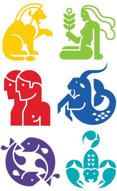 Always with Honor icons of Everyday Zodiac / Astrology symbols. Leo Zodiac, Astrology Zodiac, Astrology Signs, Zodiac Signs, Zodiac Art, Creative Icon, Creative Logo, Best Icons, Zodiac Symbols