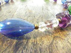 Guarda questo articolo nel mio negozio Etsy https://www.etsy.com/it/listing/267339483/collana-in-vetro-soffiato-blu-perle-di