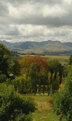 Clarens, South Africa, Autumn, photograph by Engela le Roux