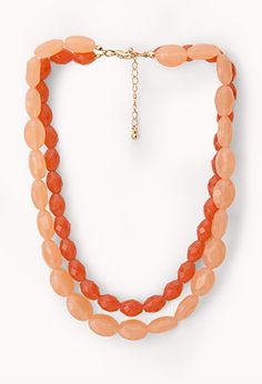 Candy-Coated Beaded Necklace