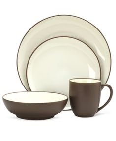 Noritake Dinnerware, Colorwave Chocolate Coupe Collection