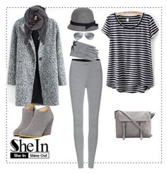"""""""SHEIN CONTEST"""" by azra-2709 ❤ liked on Polyvore featuring Brooks Brothers, Isabel Marant, Ray-Ban and H&M"""
