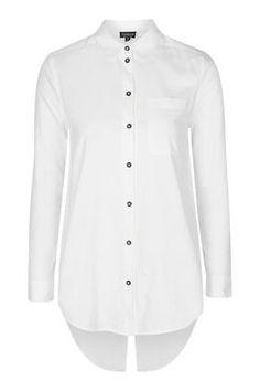 Split Back Oxford Shirt