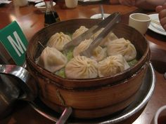 I go out of my way to eat at Joe's Shanghai (9 Pell St between Bowery & Doyers) - the best soup dumplings hands down.
