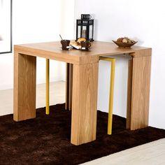 1000 id es sur table console extensible sur pinterest lits escamotables fauteuil confortable - Tafel console extensible solde ...