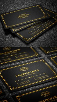 Yukon vintage business card business cards business and logos elegant vintage business card wajeb Images