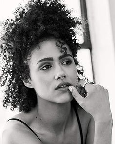 Short Kinky Curly Wig Real Human Hair Afro Curly Wigs Black Color Natural Looking For Women Pelo Natural, Natural Hair Tips, Natural Curls, Natural Hair Styles, Hair Inspo, Hair Inspiration, Cabelo Inspo, 50 Most Beautiful Women, Nathalie Emmanuel