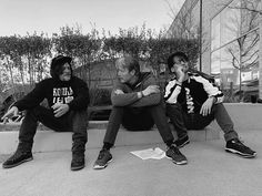 Norman Reedus, Mads Mikkelsen and Hideo Kojima