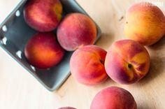 Recipe: Skinny Peach Crumble