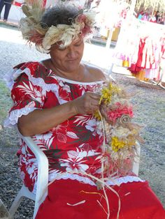 Heiva Rima'i 2011. I remember this place well. We danced there and it was scary but all the craftspeople were gracious to us american vahine. ( photo by: Joelle Ballet )