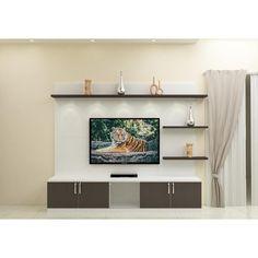 Simple Tv Unit Design, Modern Tv Unit Designs, Wall Unit Designs, Modern Tv Wall Units, Living Room Tv Unit Designs, Tv Wall Design, Tv Unit Furniture Design, Tv Unit Interior Design, Room Interior