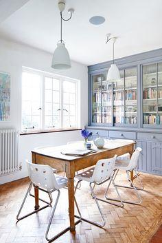 Herringbone floor | At Home in Love