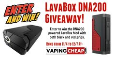 Win a Hcigar VT200 Box Mod from VapingCheap.com - Enter here: http://vapingcheap.com/vt200-box-mod-giveaway/ #ecig #Vape