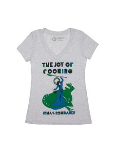 Look what I found from Out of Print! The Joy of Cooking women's book cover t-shirt – Out of Print #OutofPrintClothing