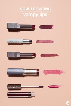 Lipstick takes a dark turn this fall—and you can easily pull off the trend with natural products. For a just hint of vamp, go with a swipe of sheer berry: try W3ll People's Nudist Colorbalm in Fig, Vapour Beauty's multiuse stick in Instinct or Shea Moisture's gloss in Loredana. To amp up the edginess, try a rich burgundy or plum lipstick from Burt's Bees in Juniper Water or Russet River. This type of cool-toned lip is the perfect trend for fall, and looks great on just about any skin tone.
