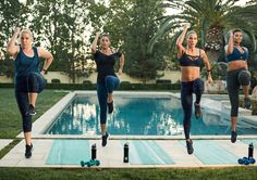 A group workout routine for all levels and members of your Fabletics Squad!