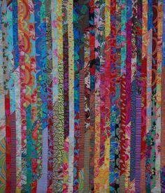 Quilt with gorgeous Kaffe Fassett  and Brandon Mabley fabrics  http://supposecreatedelight.com