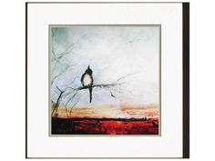 Paragon Sayilir Bird Branch Exclusive Giclee Painting