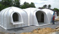 Magic Green Homes, underground architecture, underground homes,