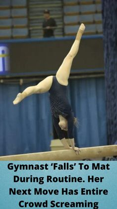 #Gymnast 'Falls' To Mat During #Routine. Her Next Move Has #Entire Crowd #Screaming Funny Prank Videos, Funny Pranks, Funny Memes, Hilarious, Tattoo Fails, Cute Funny Babies, Disney Princess Pictures, Stylish Hoodies, Bride Nails