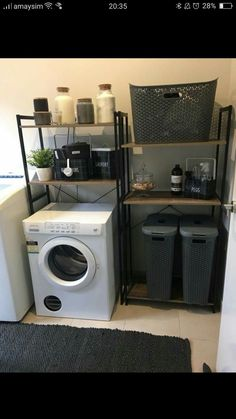 home decor kmart home decor Kmart Photo from KmartMums group on fb Kmart Bathroom, Simple Bathroom, Bathroom Storage, Laundry Decor, Laundry Storage, Laundry Rooms, Kmart Decor, Home Organisation, Home Organization