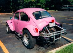 pink volkswagen baja bug - Google Search