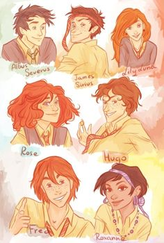 I'm not much of an HP next-gen shipper but if the kids look like this then good Goddamn, I think I should be.