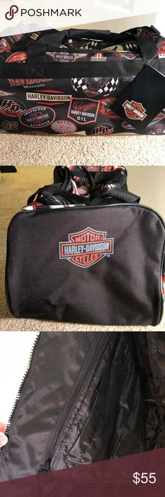 NWT Harley Davidson Duffel Bag New with tags official Harley Davidson logo duffel bag Harley-Davidson Bags Duffel Bags