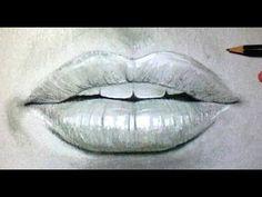 Comment dessiner une bouche réaliste [Tutoriel] 2