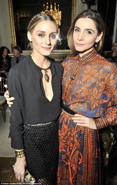 Royalty: Within the event Olivia Palermo mingled alongside the Princess of Venice, Clotilde Courau, who is also an esteemed French actress - January 27, 2016