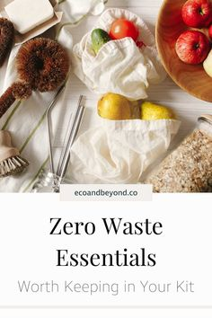 Going zero waste doesn't have to mean completely overhauling your life, small changes still help. Here's the zero waste essentials you need in your life! Going Zero Waste, Zero Waste Store, Kilner Jars, Reusable Coffee Cup, Jam Jar, Free Tips, Sustainable Living, Biodegradable Products, Eco Friendly