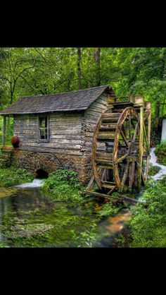 The Old Grist Mill, Near Eminence, MO