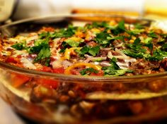 Think Healthy Food Can't Taste Good? Try This Recipe for Tortilla Black Bean Casserole