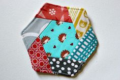 hexagon coaster tutorial. by canoeridgecreations, via Flickr