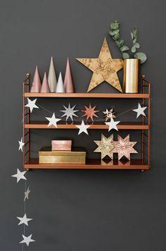 Christmas deco with stars