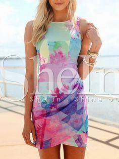 2846672946b8  16 Blue+Sleeveless+Floral+Print+Dress+15.99 15 Dresses