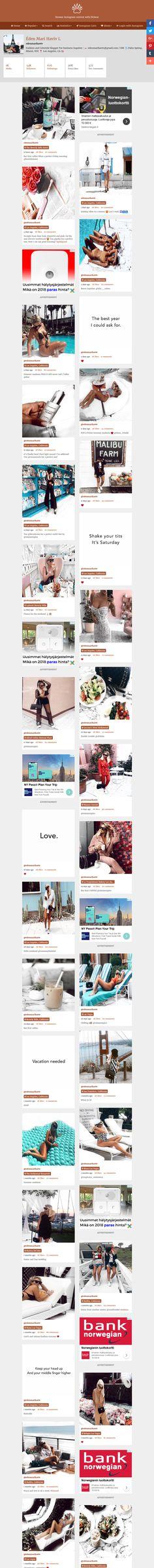 Screenshot: Éden Mari Haviv L @edenmarihaviv Instagram Profile | Picbear Profile, Instagram, User Profile