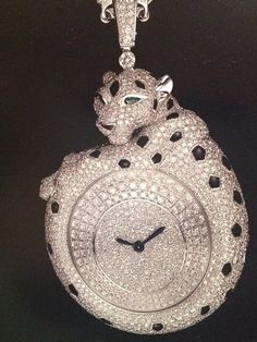 Cartier Diamond Watch Pendant, I just found my Christmas present! LOL! TG,  NOT !
