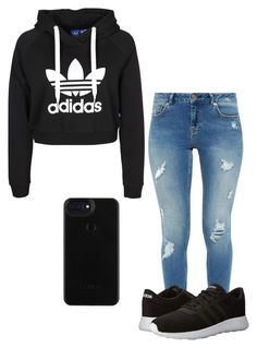 """""""Untitled #125"""" by kaldridge-1 on Polyvore featuring Ted Baker and adidas"""