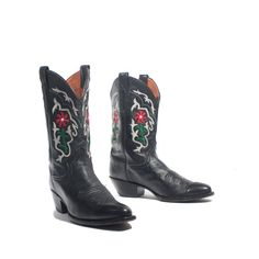 Vintage Justin Western Boots Women's Cowboy by RabbitHouseVintage, $140.00