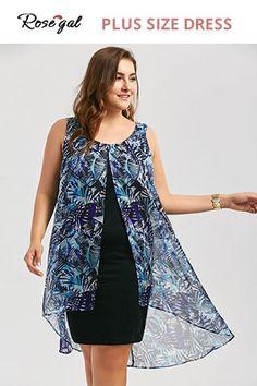 ae4e270d8e8 27 Best Rosegal Plus Size Dresses images