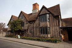 Hall's Croft, where Susanna, daughter of William Shakespeare lived with her husband Dr John Hall.