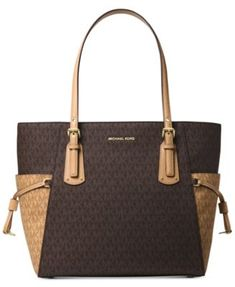 a7f6835dc948 Michael Kors Voyager East West Signature Tote   Reviews - Handbags    Accessories - Macy s