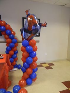 Spiderman birthday theme Jan 25th 2014 845-538-2618