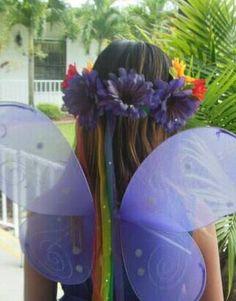 Rainbow head crown