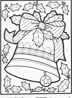 Let's Doodle Coloring Pages to Print | ... Let's Doodle coloring pages– just in time for the holiday season