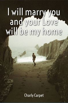 Check out my new PixTeller design! :: I will marry you and your love will be my home charly carpet