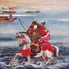 Taira no Atsumori (killed by Kumagai no Naozane)