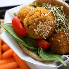 Sweet Potato Falafel - Get Off Your Tush and Cook!